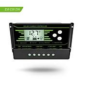 Pwm 30a controlador de carga solar 12v 24v auto con retroiluminación lcd pantalla dual usb 5v regulador solar cargador z30