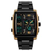 SKMEI Hombre Reloj Deportivo Reloj de Vestir Reloj de Moda Reloj de Pulsera Reloj digital Japonés Digital Despertador Calendario