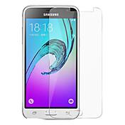 Vidrio Templado Protector de pantalla para Samsung Galaxy J3 Protector de Pantalla Frontal Alta definición (HD) Dureza 9H Borde Curvado