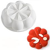 moldes para pasteles, uso diario, gel de sílice, herramienta para hornear, molde para pasteles, herramienta para hornear