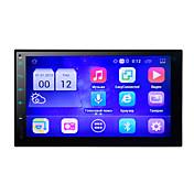 android 5.1 coche 7touch pantalla mp5 reproductor de apoyo bluetooth jugar tarjeta fm radio 12v universal coche de estilo