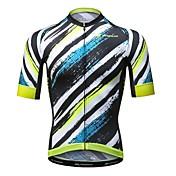 Mysenlan Maillot de Ciclismo Hombre Manga Corta Bicicleta Camiseta/Maillot Secado rápido Poliéster Moda Verano Ciclismo de Montaña