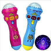 LED照明 おもちゃ マイク おもちゃ ノベルティ柄 おもちゃ 家族 誕生日 きらきら 旅行 新デザイン 1 小品