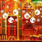 クリスマス ファッション 形 ウォールステッカー プレーン・ウォールステッカー 飾りウォールステッカー,ビニール 材料 ホームデコレーション ウォールステッカー・壁用シール