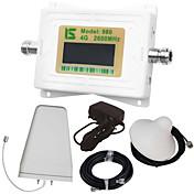 mini pantalla lcd inteligente 4g980 2600mhz repetidor booster señal de teléfono móvil con antena de registro diario al aire libre / antena