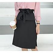 Mujer Midi Faldas,Línea A