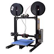 Yite 3d impresora kit diy alta precisión de múltiples funciones de estructura de aluminio estructura de gran volumen de la construcción 200x280x230mm