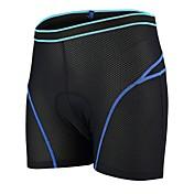Shorts Inferiores de Ciclismo Unisex Bicicleta Pantalones cortos Ropa interior Pantalones Cortos Acolchados Ropa para Ciclismo Secado