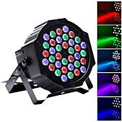 U'King LED舞台照明 LEDパーライト DMX 512 マスタースレーブ 音活性化 オートマチック 36 のために パーティー ステージ ウェディング クラブ プロフェッショナル 高品質