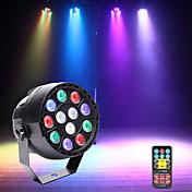 U'King Luces LED Para Escenarios Luces Par LED DMX 512 Maestro-Esclavo Activación por sonido Auto 15 para Discoteca Fiesta Estado Boda
