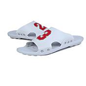 メンズ 靴 PUレザー 夏 コンフォートシューズ スリッパ&フリップ・フロップ のために ホワイト ブラック