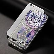 Funda Para Apple iPhone X iPhone 8 Líquido Diseños Cubierta Trasera Brillante Atrapasueños Suave TPU para iPhone X iPhone 8 Plus iPhone 8