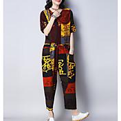 Mujer Camisa - Geométrico Pantalón