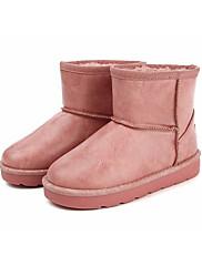 女の子 靴 合成マイクロファイバーPU 冬 スノーブーツ ブーツ ブーティー/アンクルブーツ 用途 カジュアル ホワイト ブラック Brown ピンク