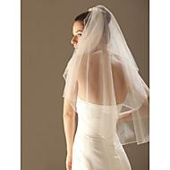 Vjenčani velovi Two-tier Elbow Burke Veils for Short Hair Ojačani rub 33.46 u (85cm) Til Bijela Slonovača ŠampanjacRetka, Ball haljina,
