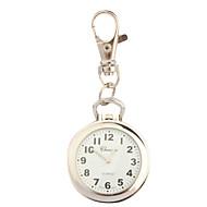 Damen Modeuhr Revers-Uhr Uhr mit Schlüsselanhänger Quartz / Legierung Band Retro Silber