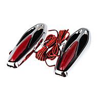 hesapli Telefonlar ve Elektroniklerde Sezonsonu-snakelike tasarım-2 adet otomobil direksiyon aerodinamik ile ışık led
