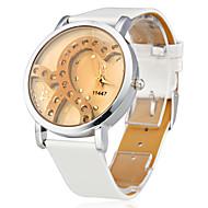 billige Quartz-Dame Quartz Armbåndsur Japansk Imiteret Diamant Silikone Bånd Glitrende / Heart Shape / Mode Hvid