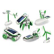 6 In 1 Güneş Enerjili Oyuncaklar Kendin-Yap Seti Bilim ve Keşif Oyuncakları Robotlar, Canavarlar ve Uzay Oyuncakları Oyuncak arabalar