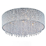 billige Taklamper-QINGMING® 10-Light Takplafond Krystall, Pære Inkludert, 110-120V / 220-240V Pære Inkludert / G9 / 50-60㎡