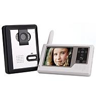 hesapli Telefonlar ve Elektroniklerde Sezonsonu-Kameralı 2.4GHz Kablosuz 3.5 İnç Dokunmatik Ekran Monitör Görüntülü Kapı Telefonu