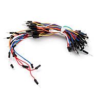 peças eletrônicas para montagem solda menos flexíveis placas fios do cabo 65 peças