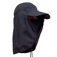 billige Balaclavas og ansiktsmasker-Fiskelue UV-beskyttende lue Cap Fort Tørring Solkrem Camping & Fjellvandring Sykling / Sykkel Herre Dame Ensfarget