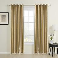 billige Gardiner ogdraperinger-Skreddersydd Energisparing gardiner gardiner To paneler 2*(W107cm×L213cm)