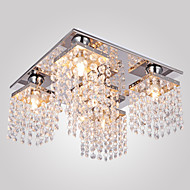 Modern/Contemporary Flush Mount For Living Room Bedroom Hallway Bulb Included