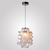 cheap Pendant Lights-Max 60W Modern/Contemporary Mini Style Chrome Pendant Lights Living Room / Bedroom