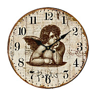 Land Angel Wall Clock