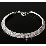 Synthetischer Diamant Layered Ketten Diamant Sternenstaub Erklärung damas Freizeit Geburtssteine Silber Farbbildschirm Modische Halsketten Schmuck Für