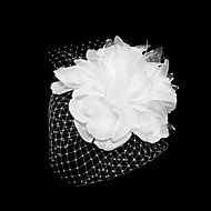 Women's Satin Tulle Headpiece-Special Occasion Fascinators Flowers