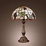 billige Lamper-Tiffany-stil drue bronse overflate bordlampe (0923-tf11)