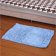 abordables -Elaine eau de fibres absorbant tapis antidérapant (50 * 80cm, bleu)