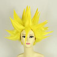 Cosplay Parykker Dragon Ball Vegeta Anime Cosplay Parykker 35 CM Varmeresistent Fiber Mand