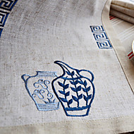 Set of 6 placemats Blue Linen Kukka