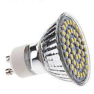 billige Spotlys med LED-3W 250-350 lm GU10 LED-spotpærer MR16 48 leds SMD 3528 Naturlig hvit AC 220-240V