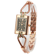 cheap Watches-Women's Fashion Watch Chinese Tile Other Alloy Band Wrist Watch Gold