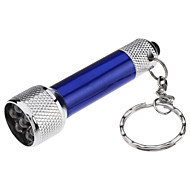 cheap Flashlights & Camping Lanterns-Key Chain Flashlights LED 50 lm 1 Mode - with Batteries Small Size Super Light Compact Size Everyday Use