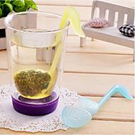 Lautsymbol förmigen Teeblätter Sieb-Filter (gelegentliche Farbe)