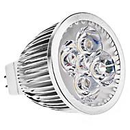 5W GU5.3(MR16) LED-spotpærer MR16 5 Høyeffekts-LED 390 lm Varm hvit DC 12 / AC 12 V