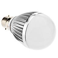 billige Globepærer med LED-3000 lm B22 LED-globepærer A60(A19) 18 leds SMD 5730 Varm hvit AC 85-265V