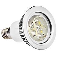 e14 gu10 led spotlight mr16 3 høy effekt led 250lm varm hvit naturlig hvit 6500k ac 100-240v