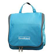 旅行用洗面道具バッグ 防水 携帯用 防雨 小物収納用バッグ 大容量 のために クロス ナイロン / 登山 水泳 レジャースポーツ 屋外 トラベル キャンピング&ハイキング