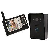billige Dørtelefonssystem med video-Trådløs Fotografert 3.5 tommers En Til En Video Dørtelefon
