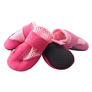 Dog Boots / Shoes Keep Warm Solid Black Red Blue Pink For Pets