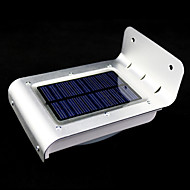 Outdoor Solar Power 16-LED Motion Sensor Detector Security Garden Light Lamps
