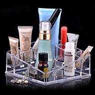 billiga Sminktillbehör-Kosmetika förvaring Smink 1 pcs Akrylfiber Kvadrat Ansikte Kosmetisk Skötselprodukter