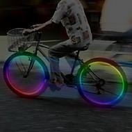 billige Sykkellykter og reflekser-hjul lys Blinkende ventillys LED Sykling Cellebatterier Lumens Batteri Sykling